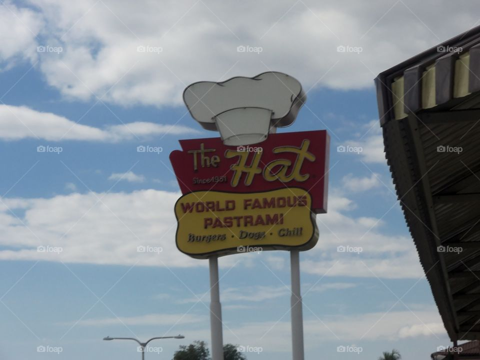 The Hat in California