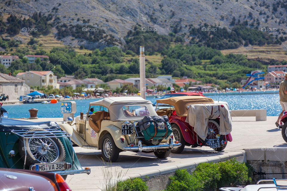 MG Old Cars - Pag, Croatia