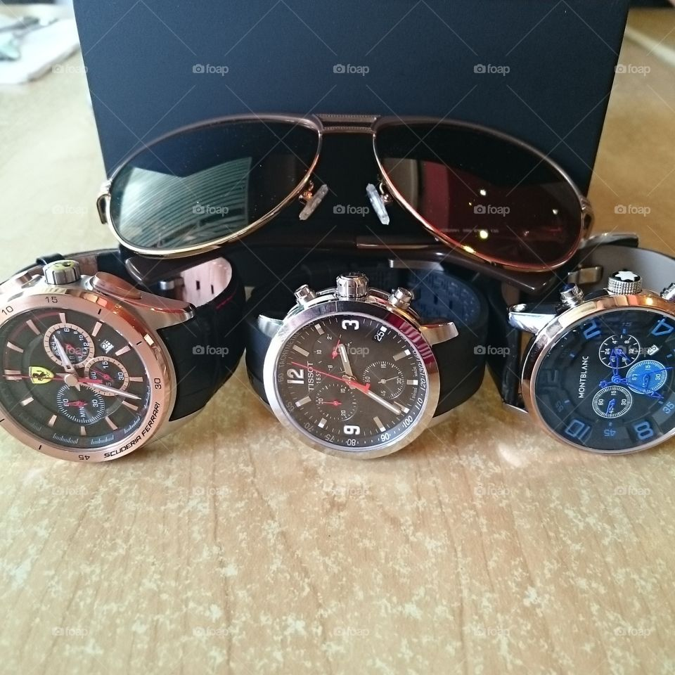My choice of watches. . I strive to own the best.