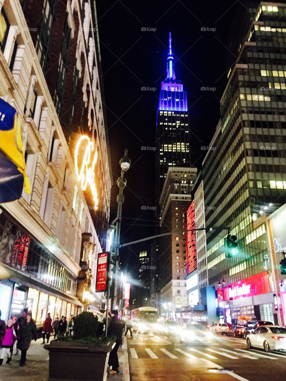 When I'm in New York, I just want to walk down the street and feel this thing, like I'm in a movie.