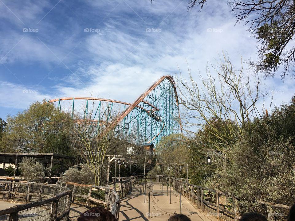 Titan - Six Flags Over Texas