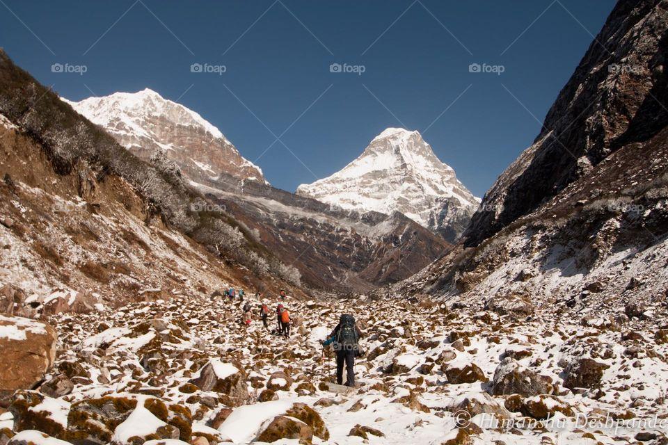 Snow, Mountain, No Person, Landscape, Travel