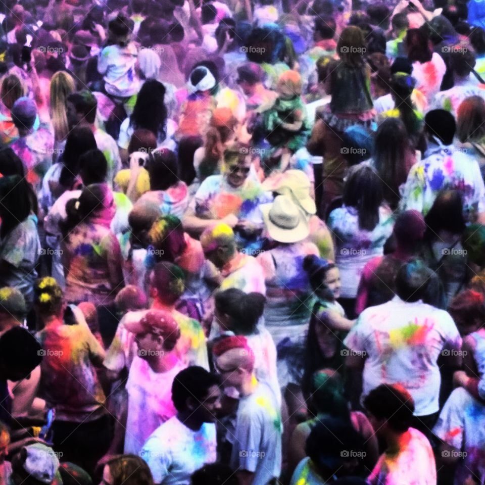beautiful people. festival of colors