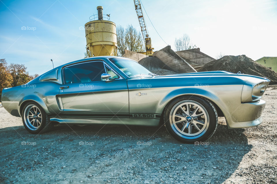 Shelby GT500 eleanor classic car from 1967