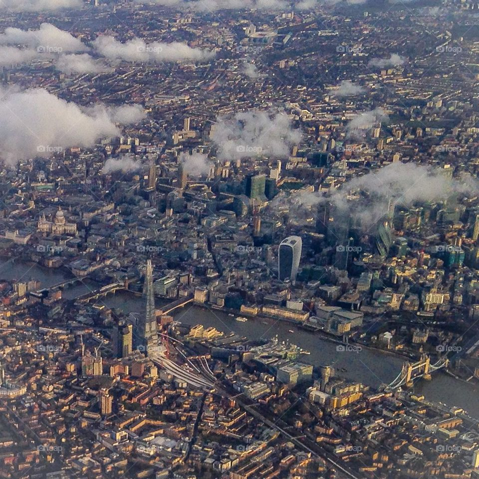 Oh London. London from the air
