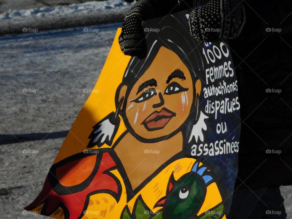Plus de 1000 femmes autochtones disparues ou assassiné
