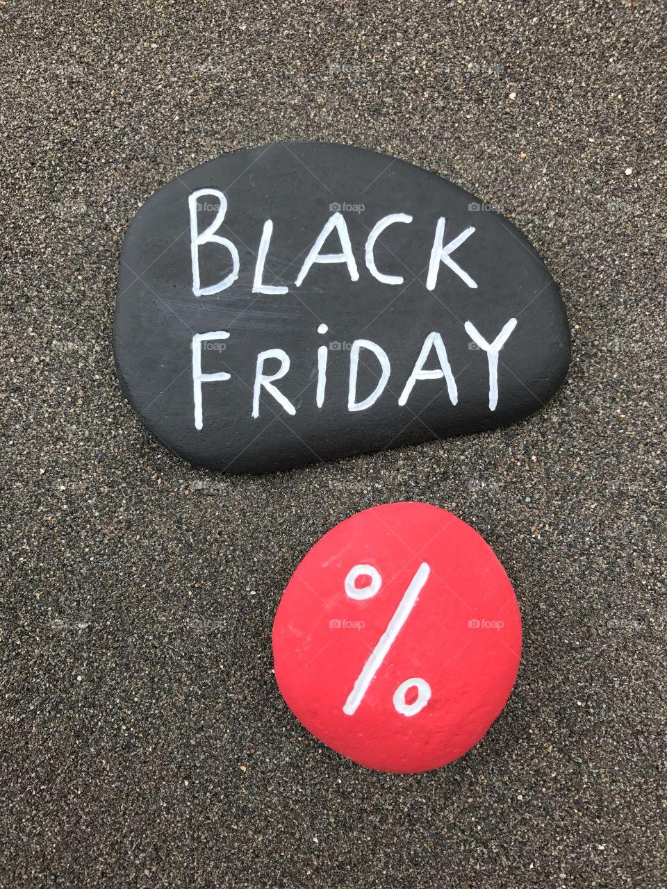 Black Friday per cent discount