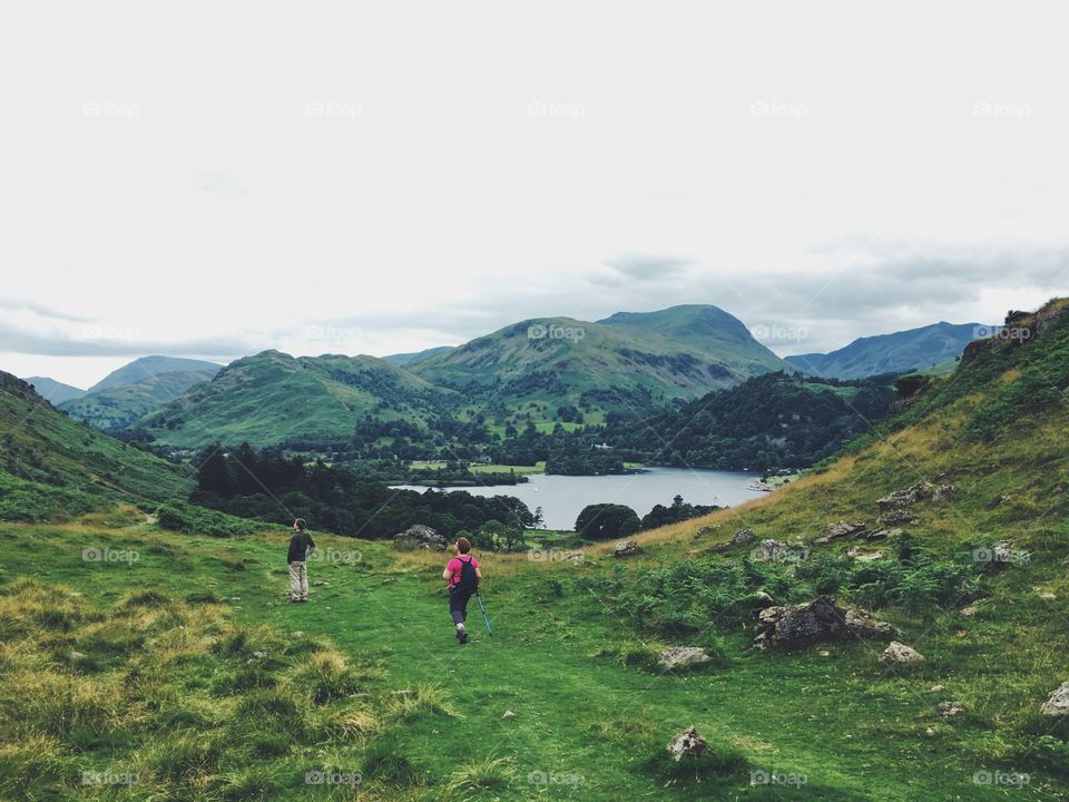 A beautiful stroll in the Lake District