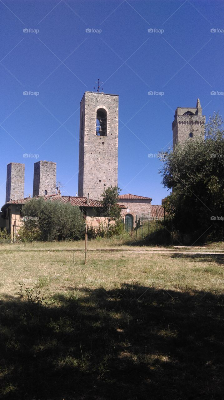paesaggio San Gimignano