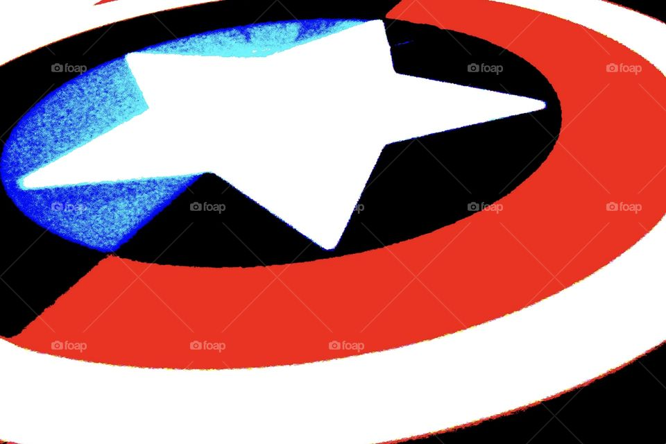 A shield for Captain America : pop image.