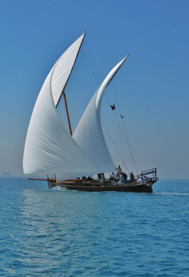 water sea traditional sail by chrisc