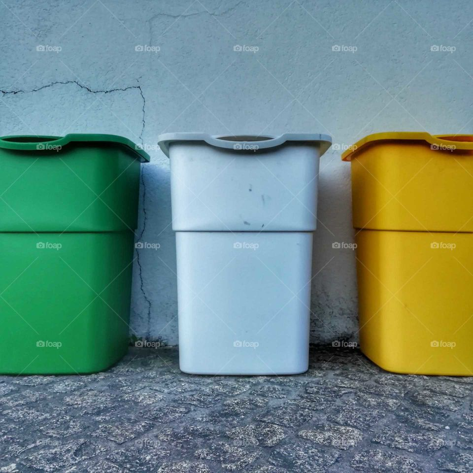 Recycling bins must be everyone's color love