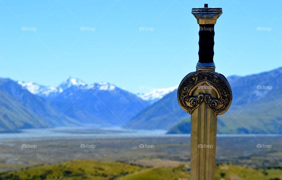 Edoras, Rohan, New Zealand