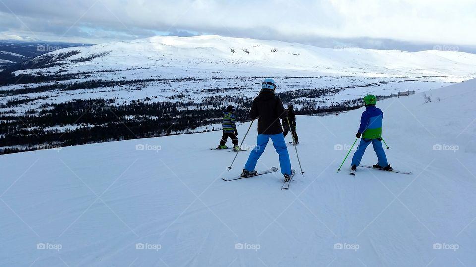 Together on Ski vacation!