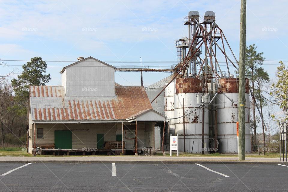 Old grain station
