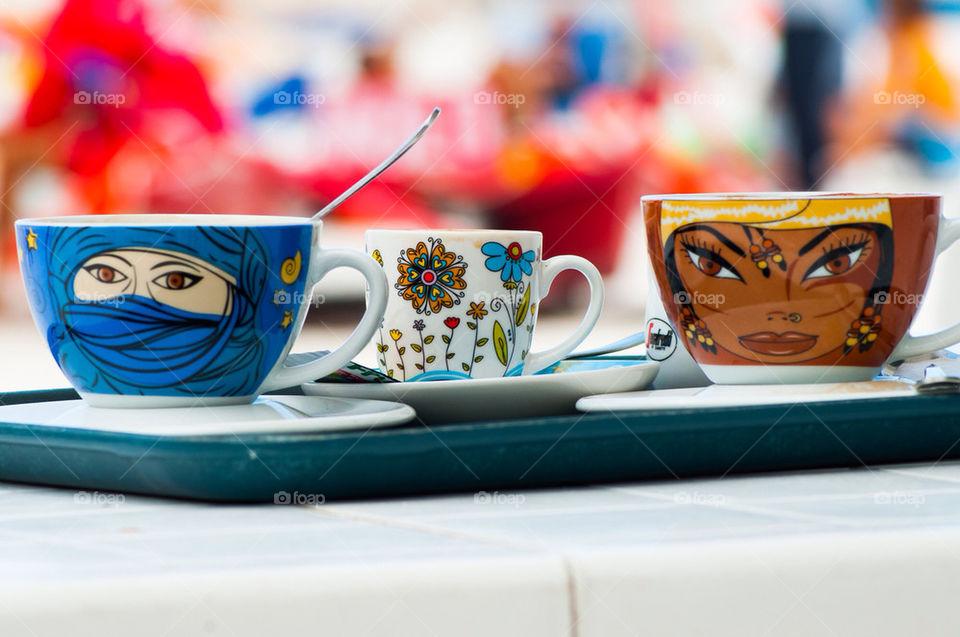 coffee cups restaurant coffeeshop by photocatseyes
