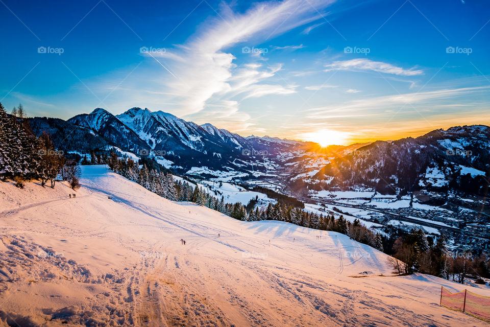 Winter Sundowner