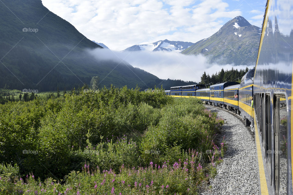 This train will take you from Anchorage to Seward