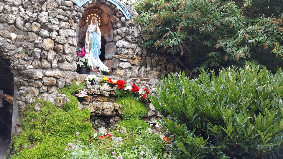 Holy Mother in the grotto
