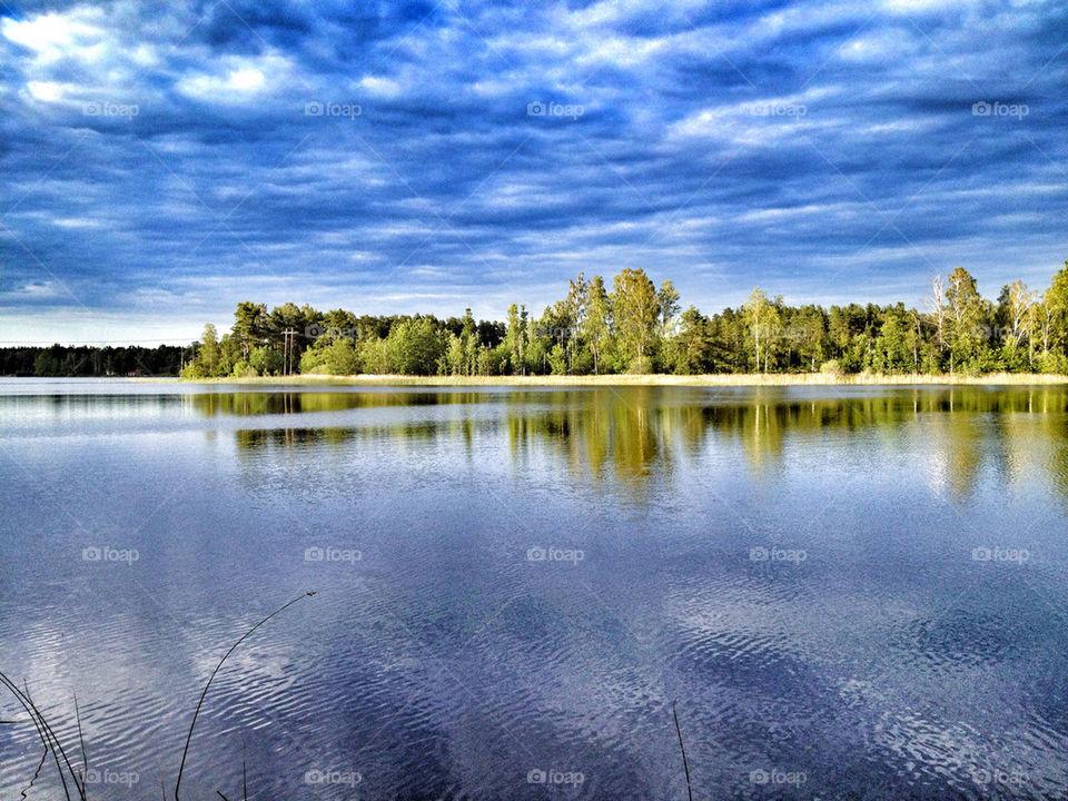 sweden sol summer lake by mirta980