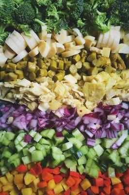 Chop Chop. Chopped Vegetables
