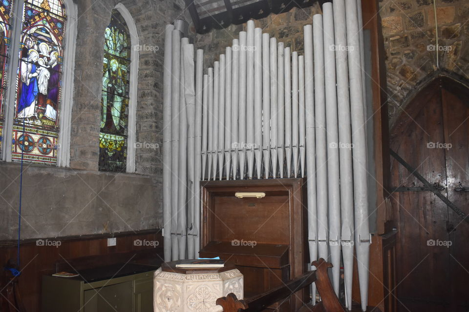 Very old Pipeorgan