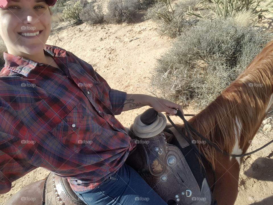 cowgirl for life, glamour comes after dark